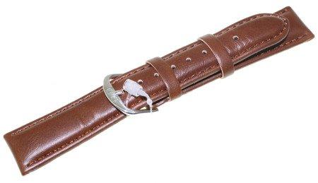 Skórzany pasek do zegarka Q&Q 18 mm