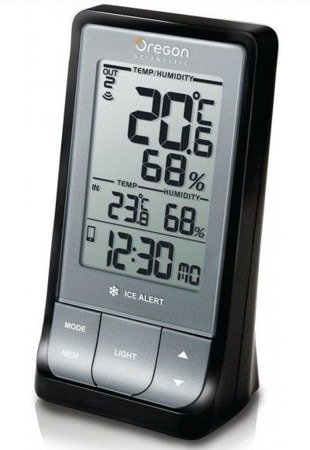 Zegar Oregon RAR213HG Termometr Higrometr BT4.0 Android iOS