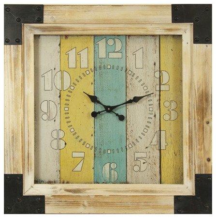 Zegar ścienny Art-Pol 101181 Duży Drewniany Retro 78 cm