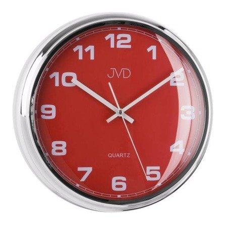 Zegar ścienny JVD HA4.3 fi 31,5 cm Cichy mechanizm