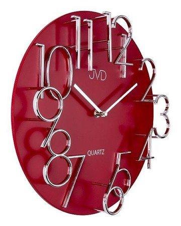 Zegar ścienny JVD HB10 Drewniany 3D