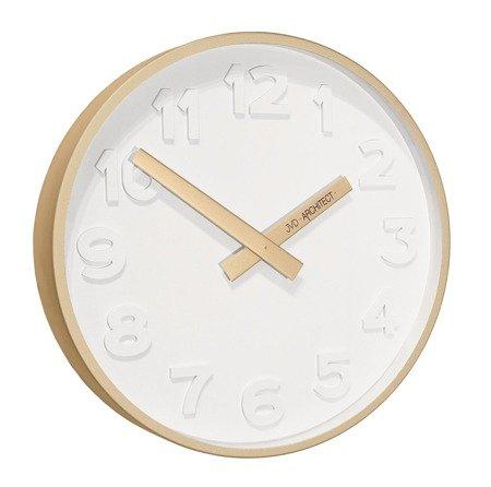 Zegar ścienny JVD HC13.4 30 cm Architect Metalowy