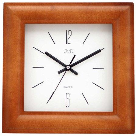 Zegar ścienny JVD NS20183.41 Drewniany Cichy