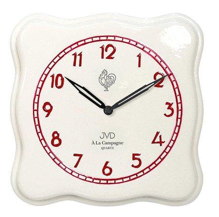 Zegar ścienny JVD TS2615.3 25x25 cm Ceramiczny Campagne