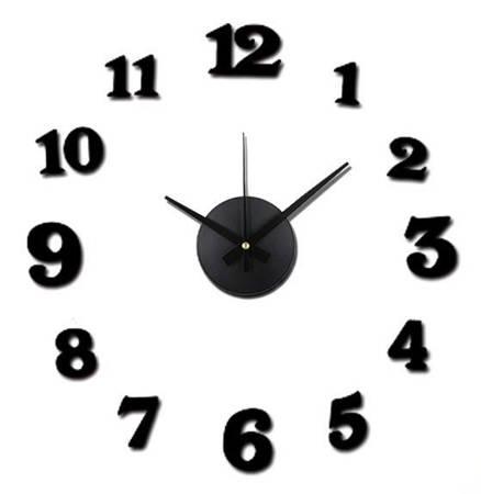 Zegar ścienny MPM E01.3508.90 naklejany na ścianę, szybę...
