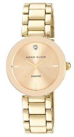 Zegarek Anne Klein AK/1362CHGB Diamond Gold