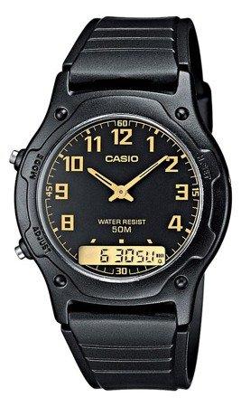 Zegarek Casio AW-49H-1BV Analogowo-cyfrowy