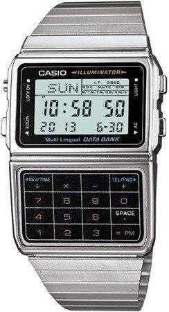 Zegarek Casio DBC-611E-1EF DataBank Kalkulator