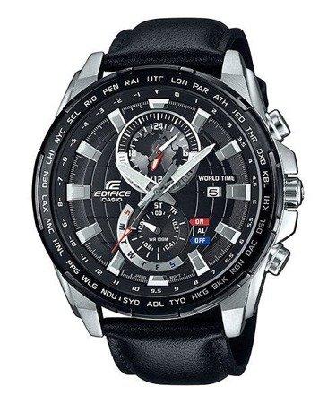 Zegarek Casio EFR-550L-1AVUEF Edifice Chrono Alarm