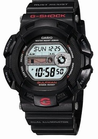 Zegarek Casio G-9100-1ER G-Shock Gulfman Tytan