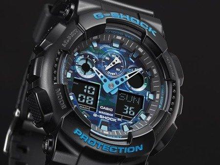 Zegarek Casio GA-100CB-1AER G-Shock Cool Blue