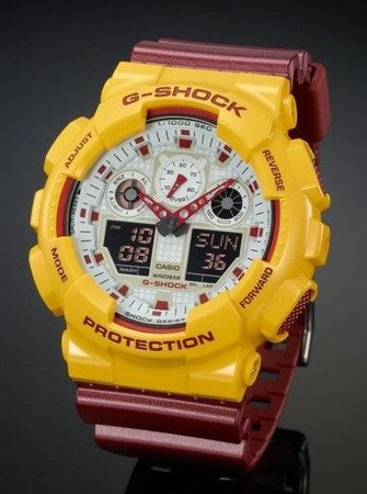 Zegarek Casio GA-100CS-9AER G-Shock