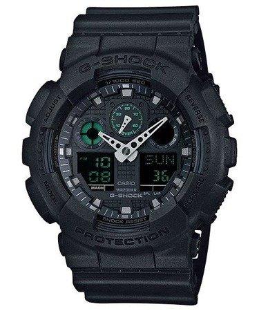 Zegarek Casio GA-100MB-1AER G-Shock Mission Black