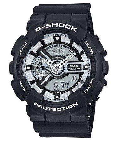 Zegarek Casio GA-110BW-1AER G-Shock