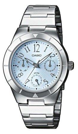 Zegarek Casio LTP-2069D-2A2VEF MultiData