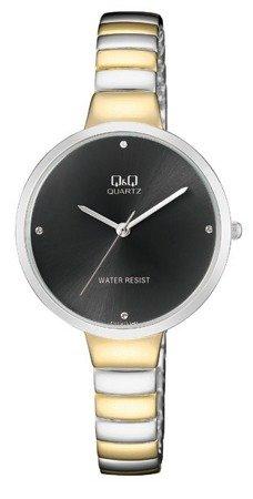 Zegarek Q&Q F611-402 Klasyczny Cyrkonie