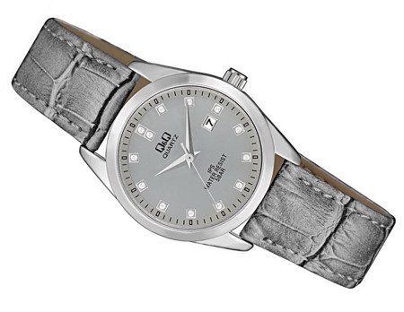 Zegarek Q&Q QZ13-312 Klasyczny Cyrkonie