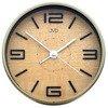 Budzik JVD HS21.1 Cichy mechanizm, metal, drewno